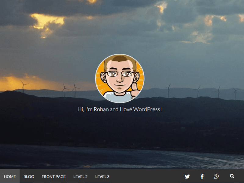 Plaino WordPress Photography Theme