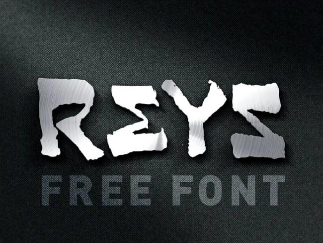 Reys Free Font
