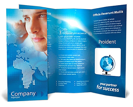 65 print ready brochure templates free psd indesign ai for One page brochure template free