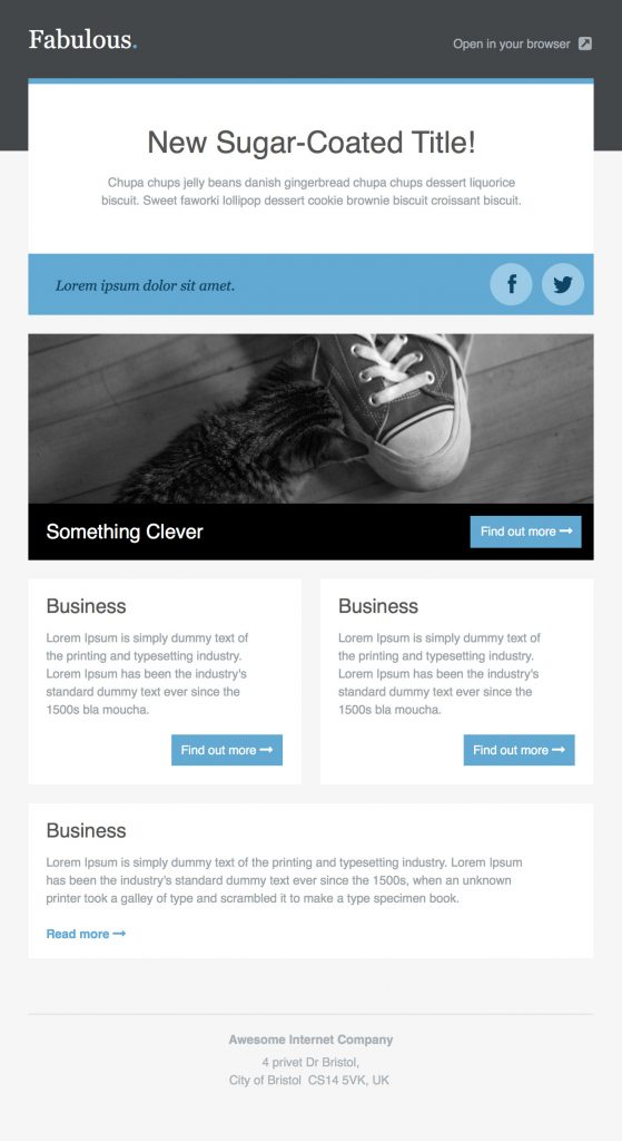 Use this email template to make a job offer as part of your hiring process. 36 Best Email Newsletter Templates Free Psd Html Download Psd Templates Blog
