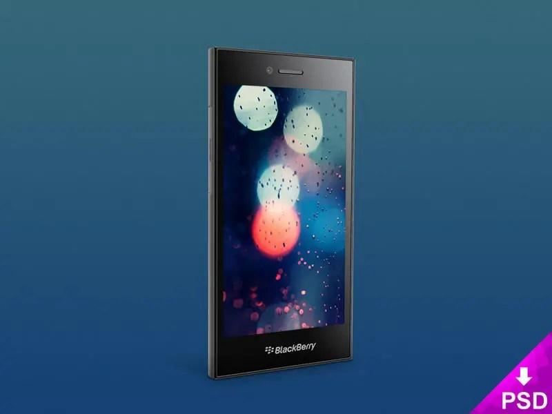 BlackBerry Leap Mockup