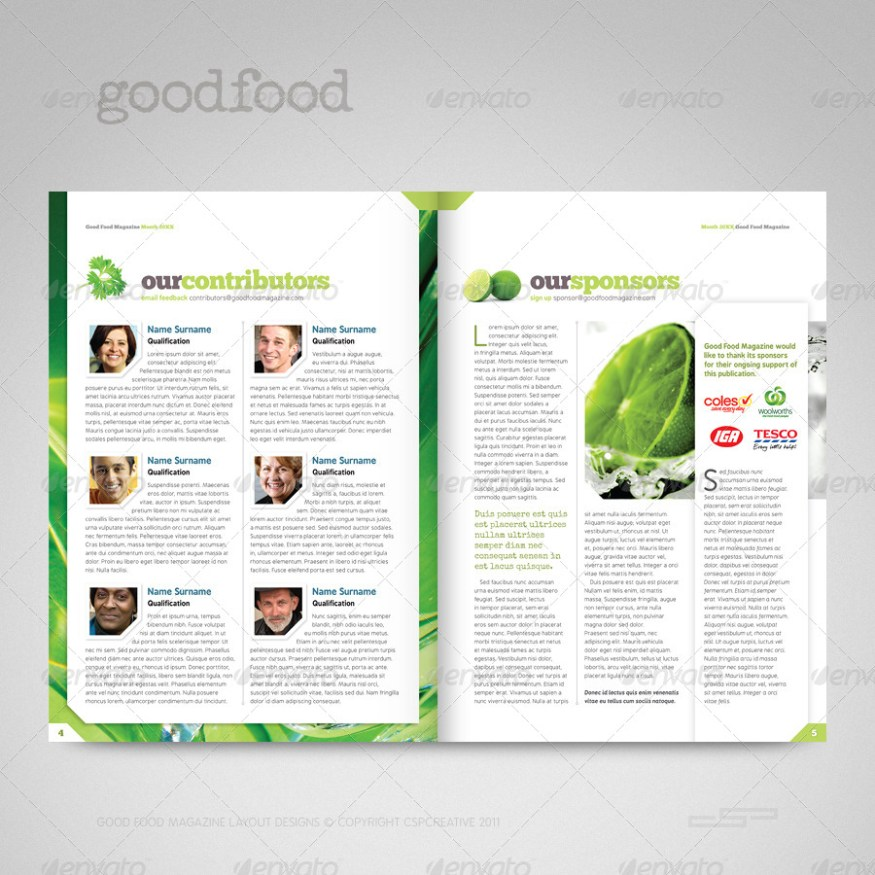 Good Food Magazine