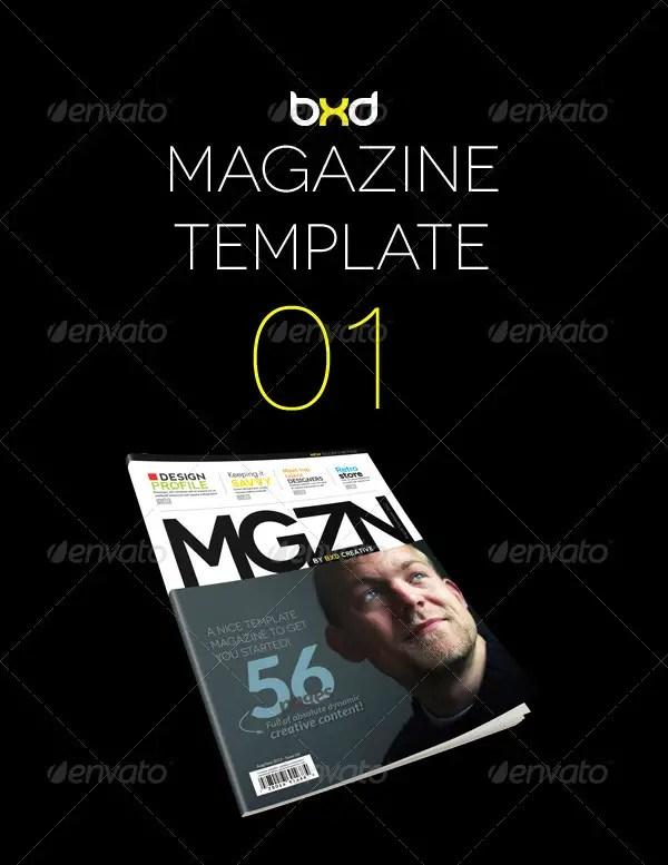 Magazine Template Bundle - InDesign Layout V1