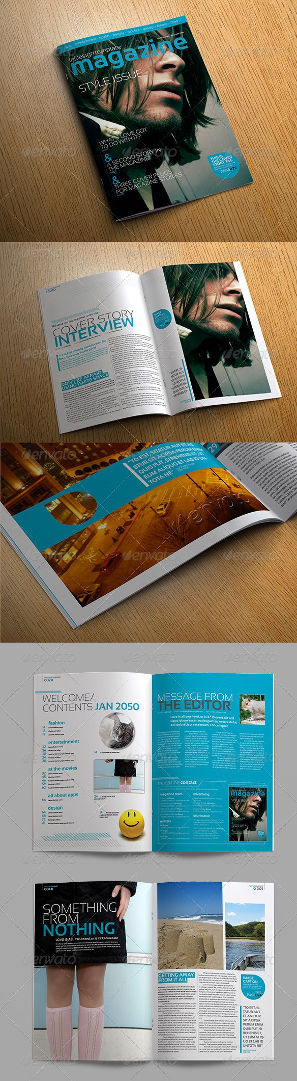 55+ Best Magazine Templates - Photoshop PSD & InDesign Download ...