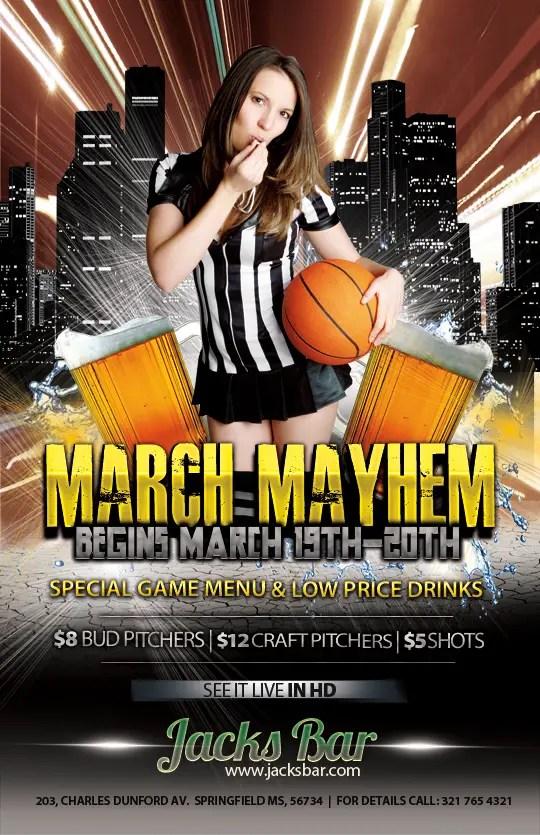 Free Basketball Flyer Templates