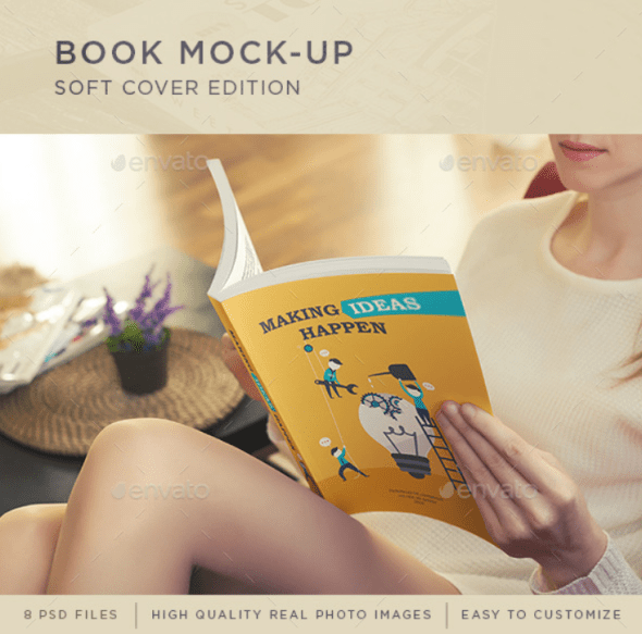 Book Mockup - Soft Cover Edition
