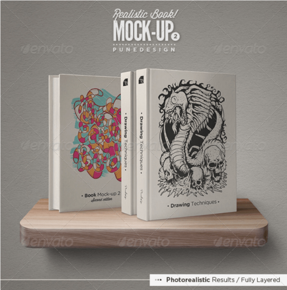 Book Mockup Set - 2