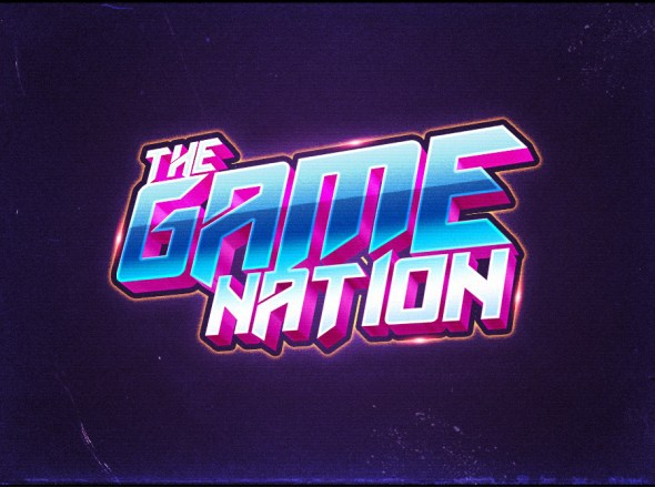 80's Style Text Effects