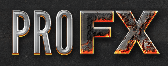 Chrome & Fire - Gothic Medieval Layer Styles Fx