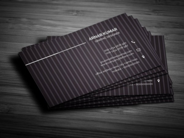 41 high quality business card templates psd free download creative business card vol01 reheart Images
