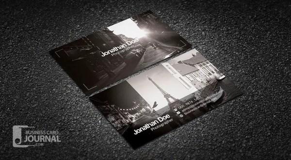Elegant & Stylish Photography Business Card Template