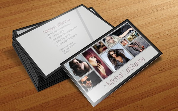 Photographer Business Card Template V1