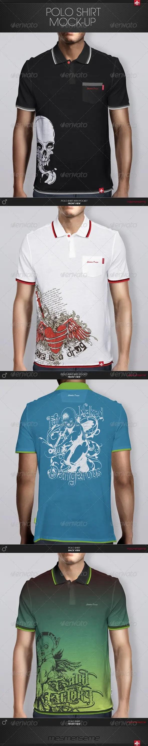 Polo Shirt Mockup3