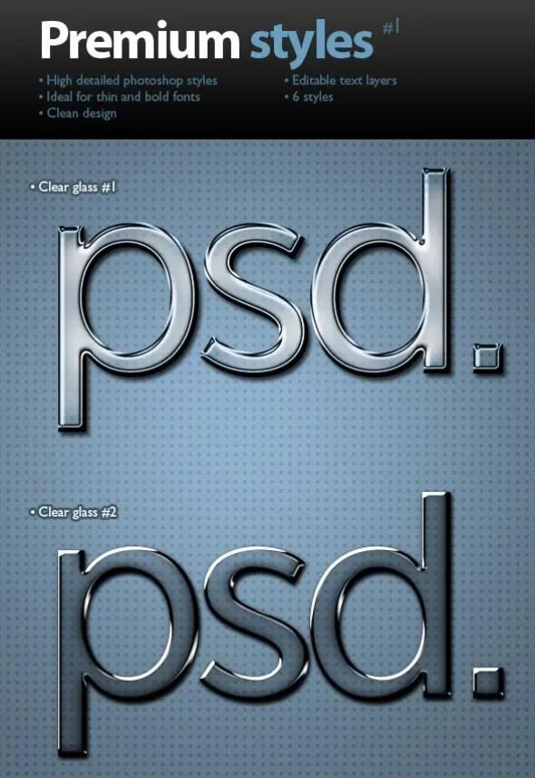 Premium text styles