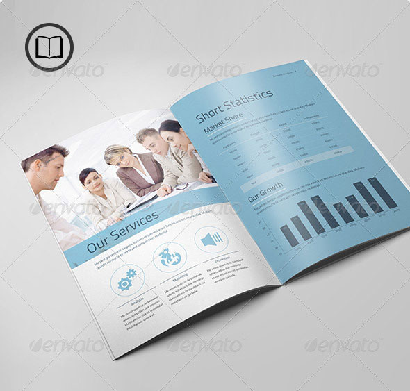 Brochure & Catalog Mock-Up