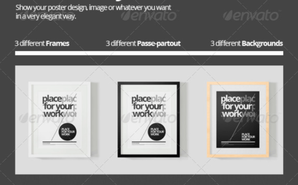 Frame for your Work