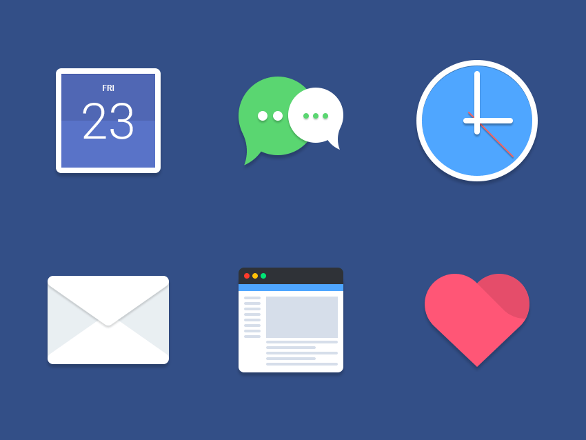 Material web icons