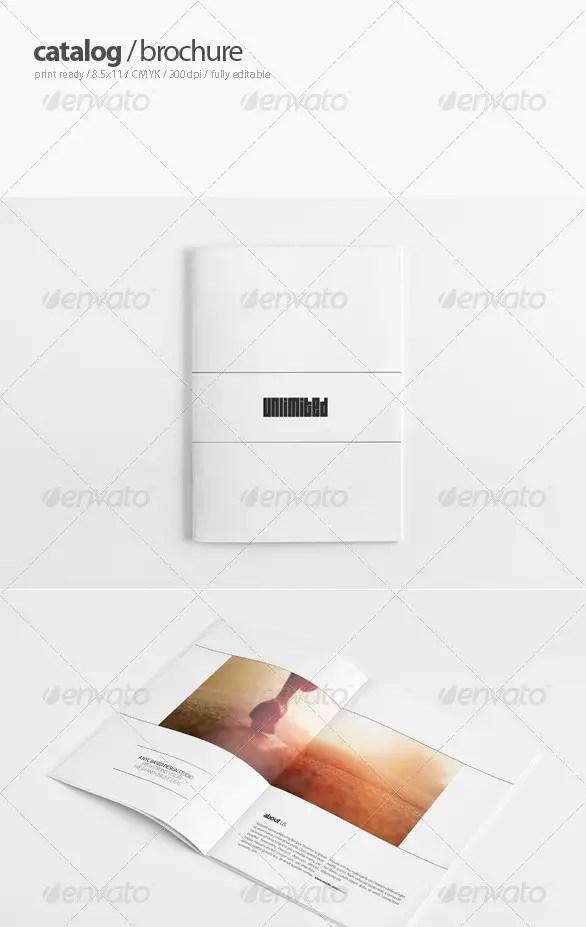 Portfolio Catalogue / Brochure