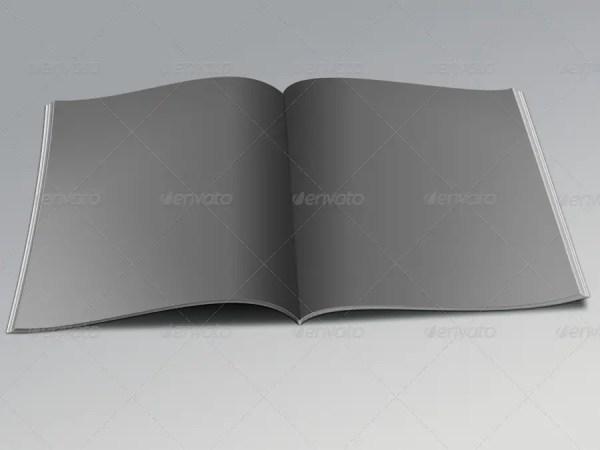 Realistic Magazines Mock-ups Templates