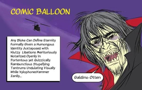 Comic Balloon