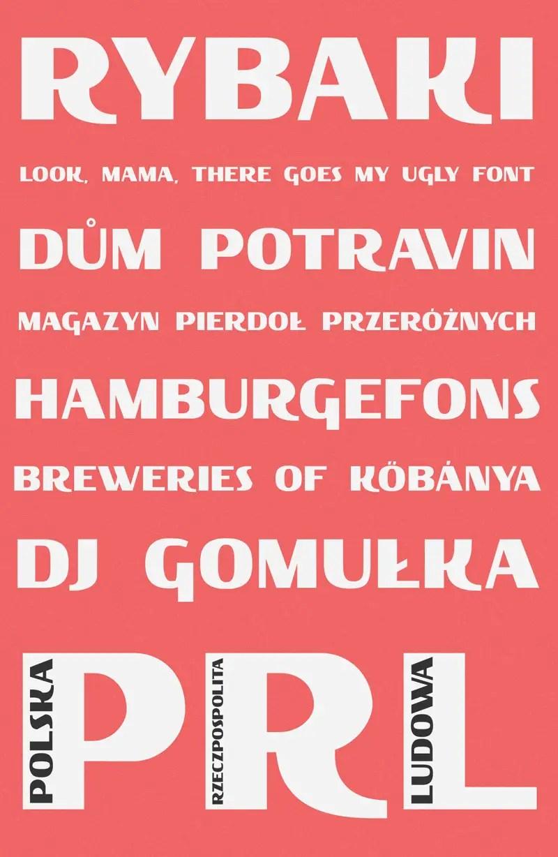 Rybaki font