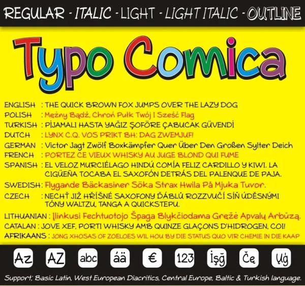 Typo Comica