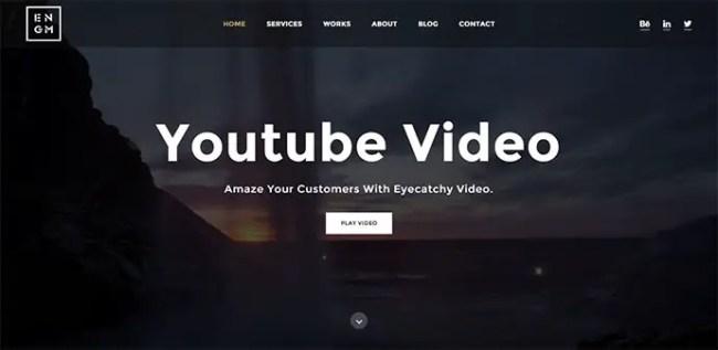 16+ Fullscreen video background HTML5 Templates - PSDTemplatesBlog