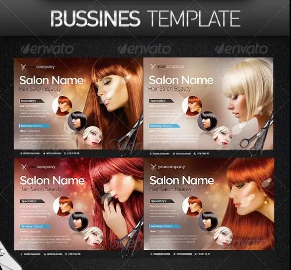 Hair Salon PRO Bussines Promotional Flyer
