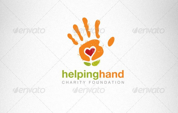 Helping Hand Charity Foundation Creative Logo