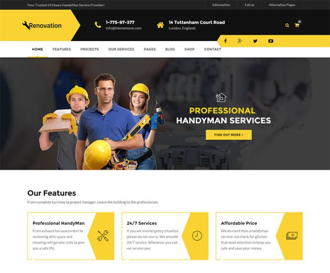 22+ Best Services WordPress Themes For Selling Services ...