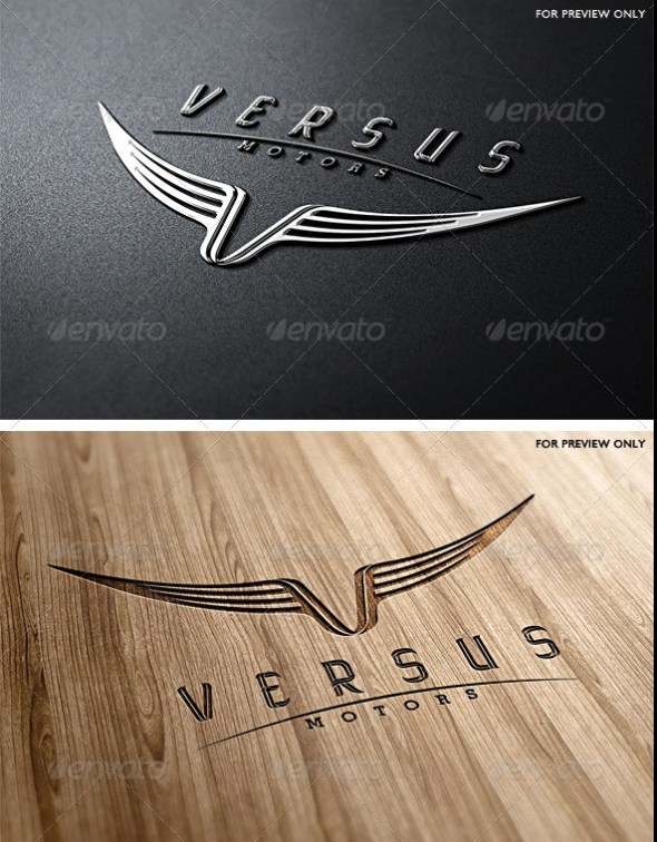 Versus Motors Logo Template