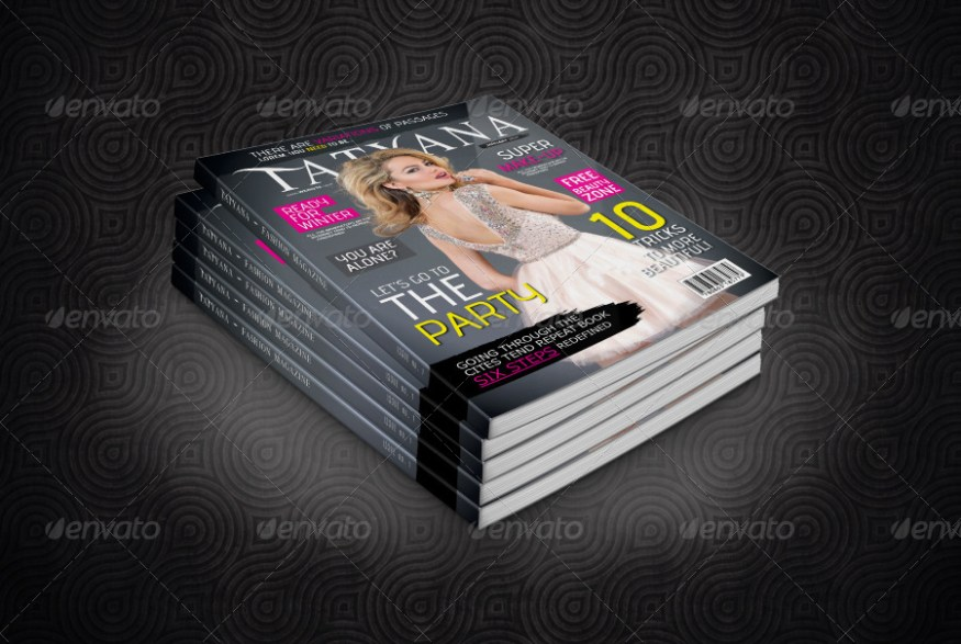 100 Pages Fashion Magazine Issue 1