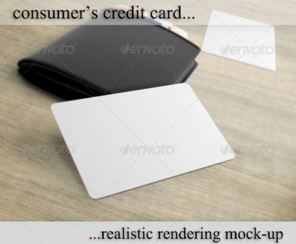 Credit/Debit/Bonus Card Mockup