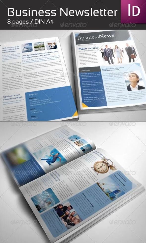 Business Newsletter DIN A4