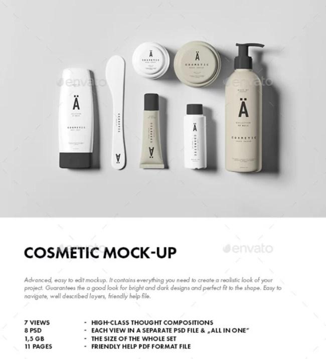 Cosmetic Mockup