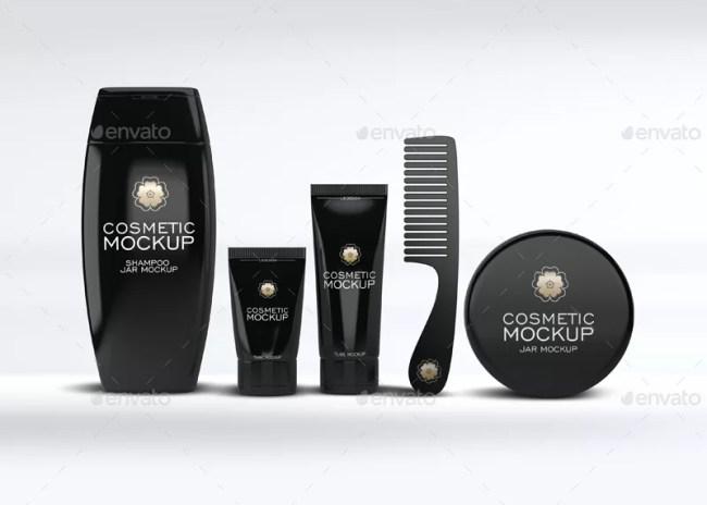 Cosmetic Set Mockup