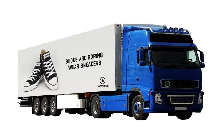 Heavy Truck PSD Mockup