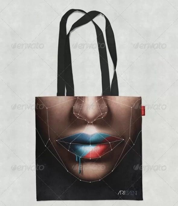 Linen Bag Mockup