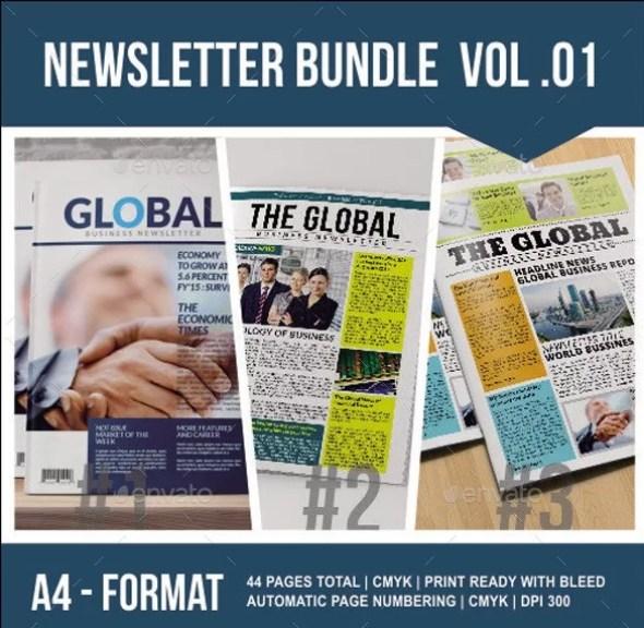 Newsletter Bundle Vol. 01