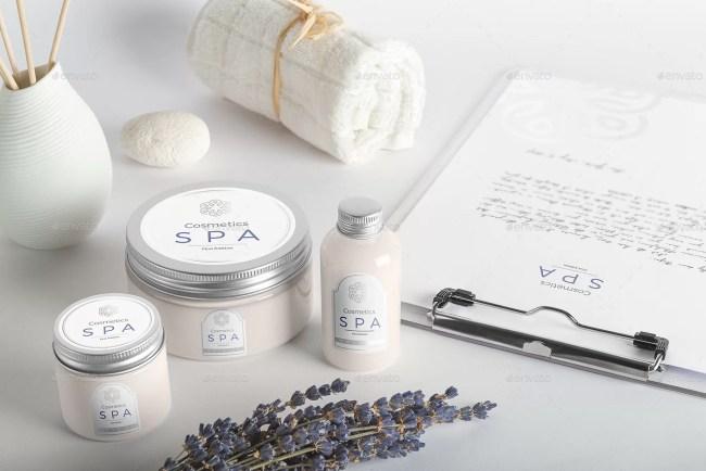 SPA Cosmetics Mockup V.1