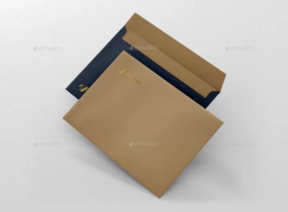 Envelope C5 Mockup