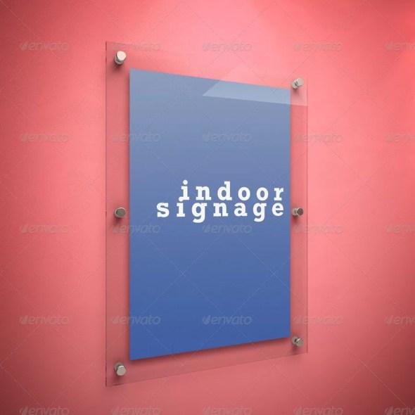 Indoor Signage Mockup
