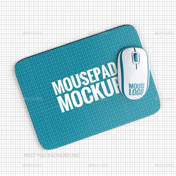 Mousepad Mockup