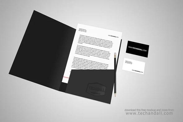 Open Folder Mockup