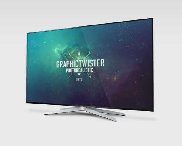 Samsung Smart TV Mockup