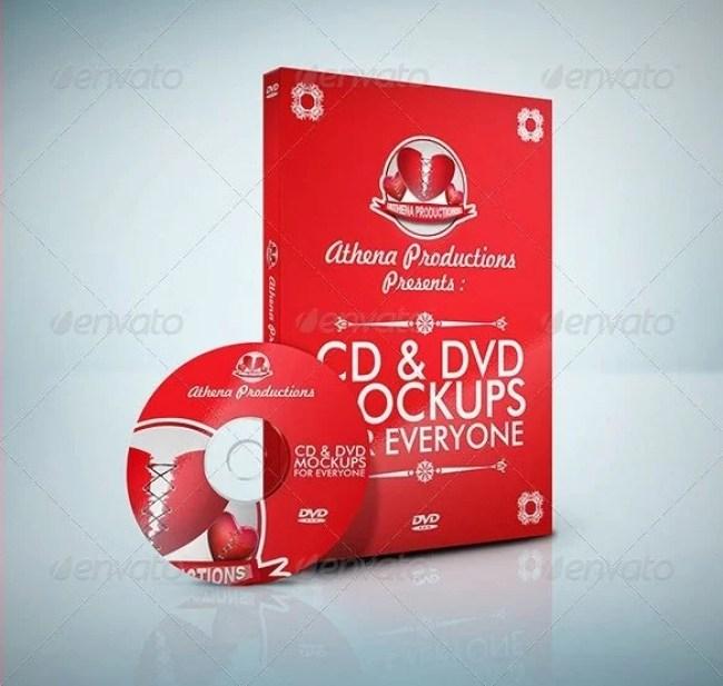 CD / DVD Mockups V.1