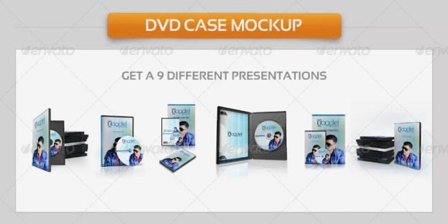 DVD Case Mockup