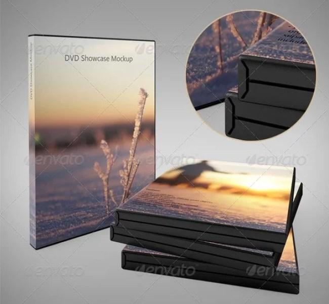 DVD Showcase Mockup
