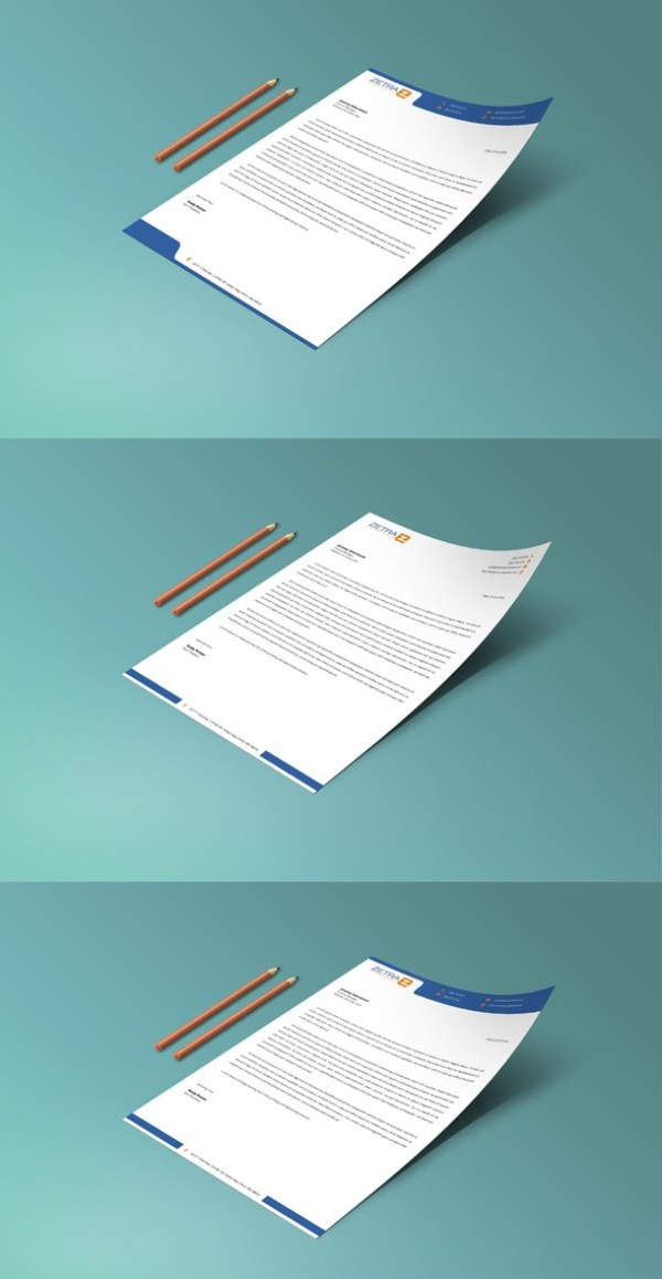 12 free letterhead templates in psd ms word and pdf format free letterhead template psd spiritdancerdesigns Image collections