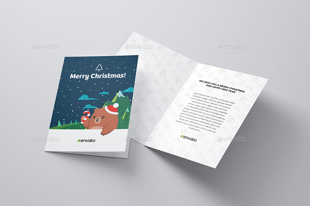 42 Best Greeting Card Mockup and Invitation Card Mockup PSD Designs